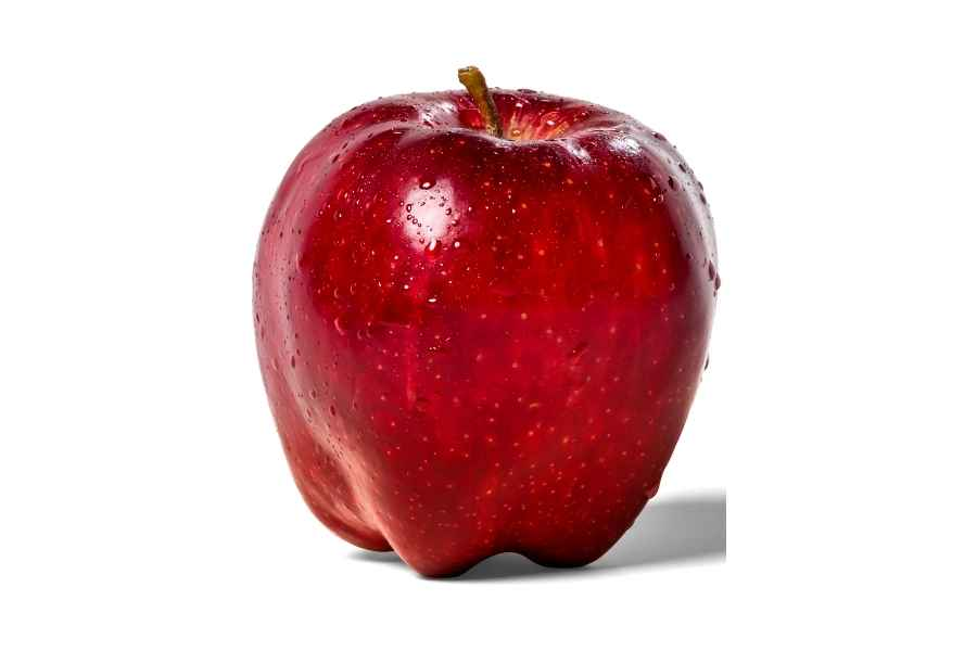 a picture of a red apple